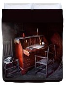 Lawyer - Writer - Where Law Began Duvet Cover by Mike Savad