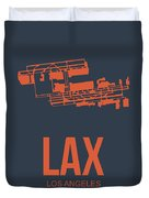 Lax Airport Poster 3 Duvet Cover