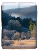 Layered Beauty Duvet Cover