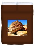 Layered Broome Rock Duvet Cover