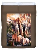 Layers Of Hoodoos And Bluffs Duvet Cover