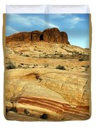 Layers Of Rock Duvet Cover
