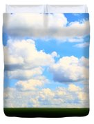 Layers Of Summer In Ohio Duvet Cover
