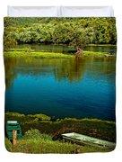 Lazy River Duvet Cover