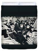 Le Bon Marche Duvet Cover