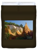 le Colorado Ochre  Duvet Cover