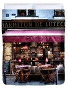 Le Marmiton De Lutece Paris France Duvet Cover