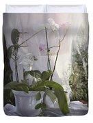 Le Orchidee Sfumate Duvet Cover