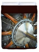 Le Rhone C-9j Engine Duvet Cover