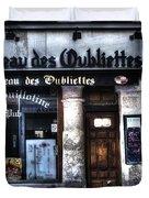 Le Taveau Des Oubliettes Paris France Duvet Cover