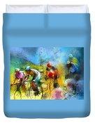 Le Tour De France 01 Duvet Cover