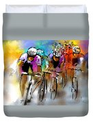 Le Tour De France 03 Duvet Cover