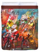 Le Tour De France Madness 04 Duvet Cover