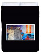 Lead By The Pillar Of Fire Duvet Cover