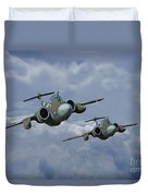 'leads The Field' Duvet Cover