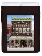 Leadville Saloon Duvet Cover