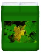 Leaf Caught On A Branch Duvet Cover
