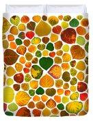 Leaf Collage 2 Duvet Cover