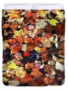 Leaf Patterns 3 Duvet Cover