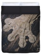 Leaf-tailed Gecko Foot Duvet Cover