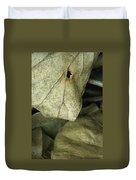 Leafpile 2 Duvet Cover