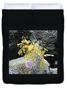 Leafy Seadragon Duvet Cover