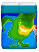 Lean Green Machine Duvet Cover
