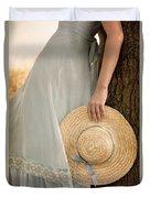 Leaning Beauty Duvet Cover