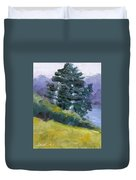 Leaning Pines Duvet Cover