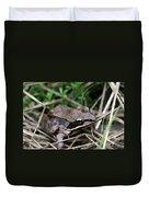 Wood Frog  Duvet Cover