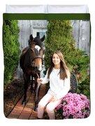 Leanna Abbey 4 Duvet Cover
