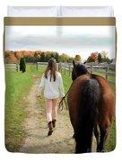 Leanna Abbey 9 Duvet Cover