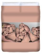 Leapin Lizards Duvet Cover
