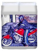 Learn How To Ride Duvet Cover