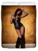 Leather Corset Duvet Cover