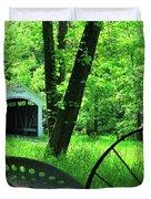 Leatherwood Duvet Cover