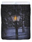 Leave The Light On Duvet Cover