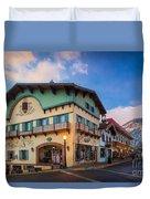 Leavenworth Alps Duvet Cover