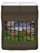 Leavenworth Federal Prison Duvet Cover