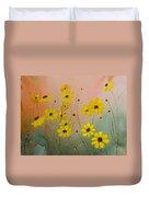 Leavenworth's Tickweed Duvet Cover