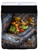 Leaves And Root Duvet Cover