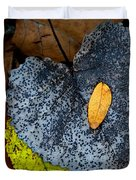 Leaves At Oak Openings Duvet Cover