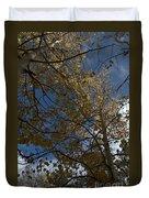 Leaves In The Sky Duvet Cover