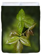 Leaves Of Three Duvet Cover