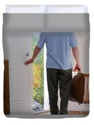 Leaving Home Duvet Cover