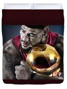 Lebron James - My Way Duvet Cover