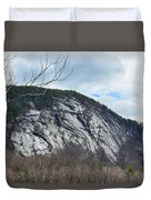 Ledge In New Hampshire Duvet Cover