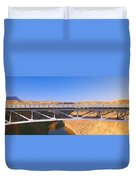 Lees Ferry In Marble Canyon, Navajo Duvet Cover
