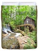 Lefler Grist Mill Duvet Cover