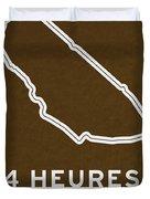 Legendary Races - 1923 24 Heures Du Mans Duvet Cover